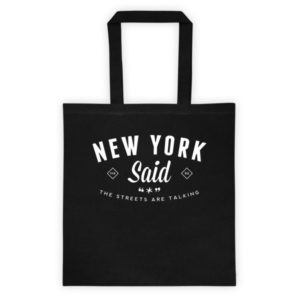 New York Said: Tote It Up