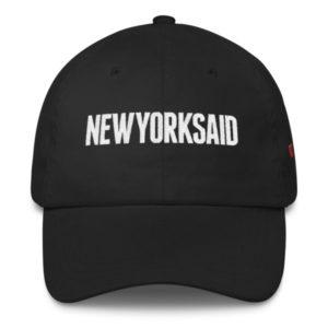 New York Said: Black Cap