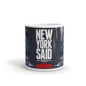 New York Said: Skyline Mug