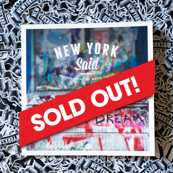 New York Said: Volume 1