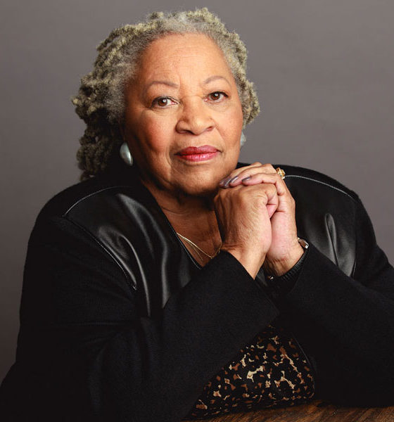 Toni Morrison in TONI MORRISON: THE PIECES I AM, a Magnolia Pictures release. Photo courtesy of Timothy Greenfield-Sanders.