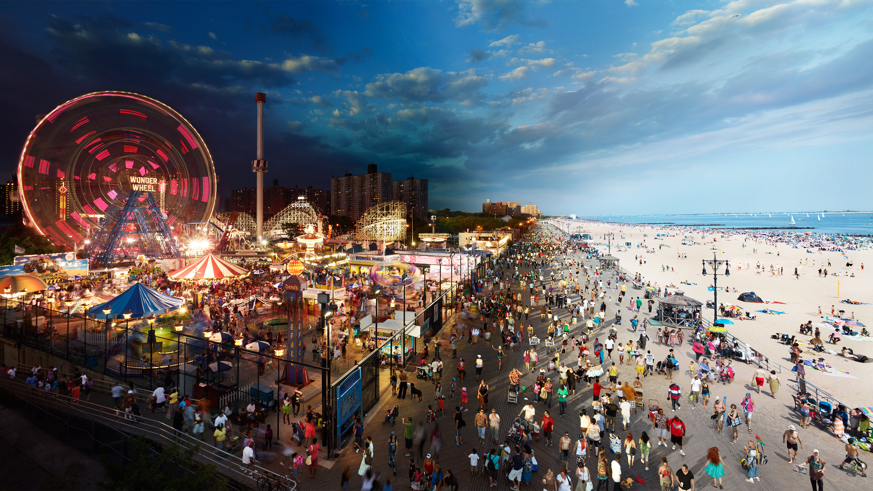 Coney Island, New York, Credit: © Stephen Wilkes