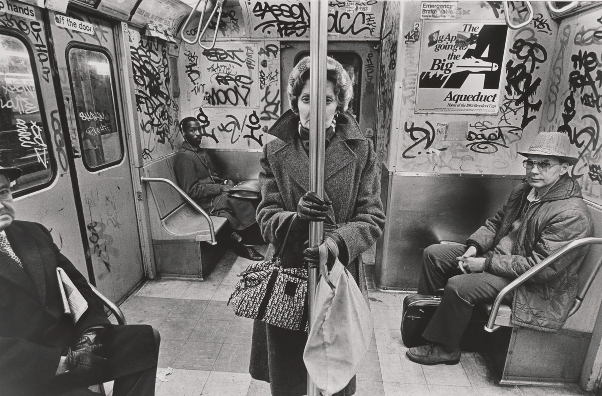 © Richard Sandler, CC Train, New York, 1985