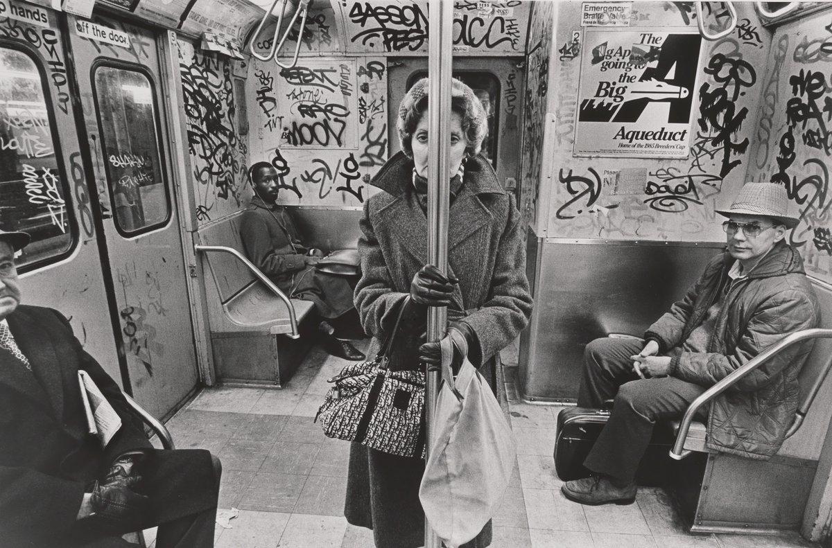 © Richard Sandler, CC Train, New York, 1985