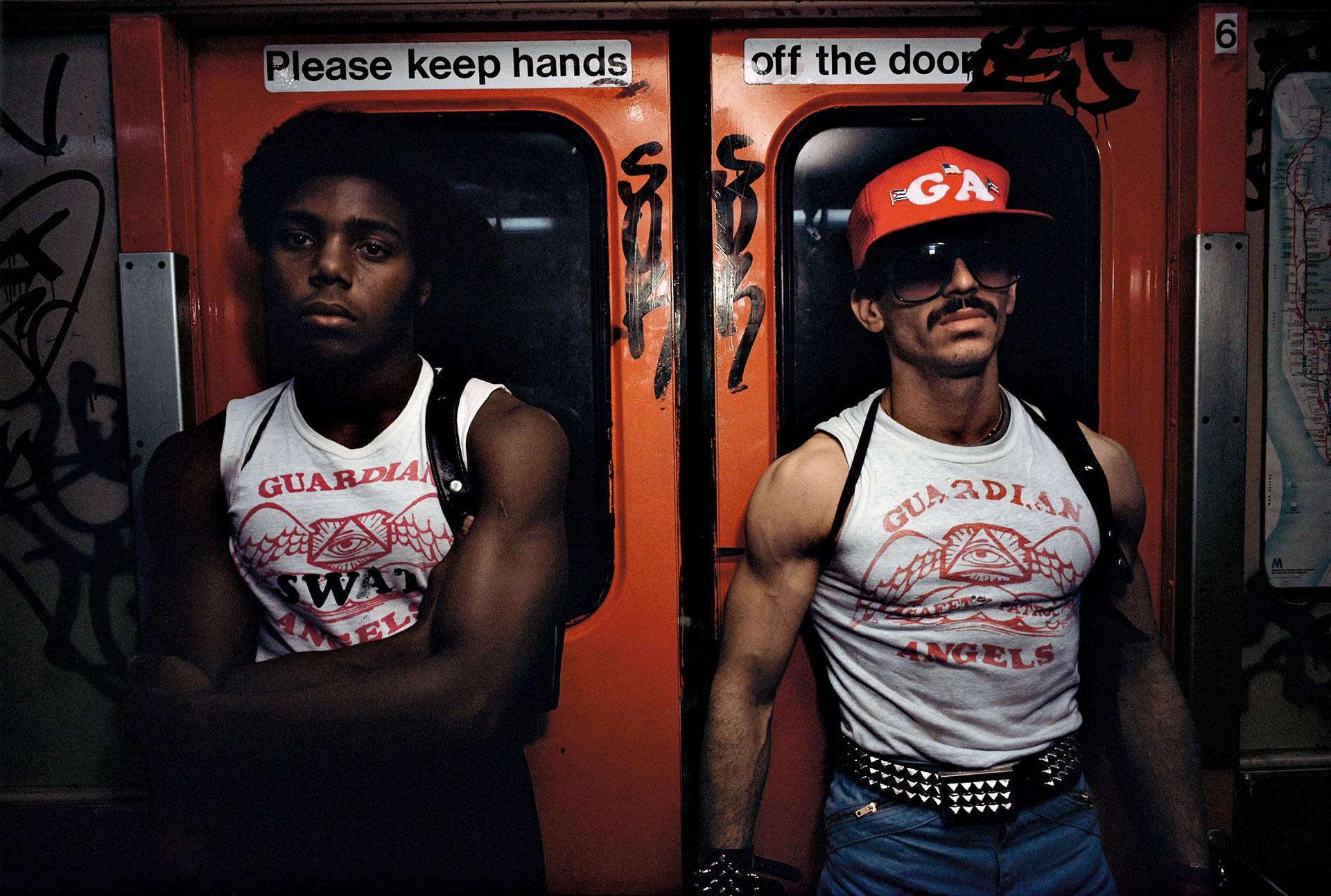 © Bruce Davidson, Subway, New York City, 1980