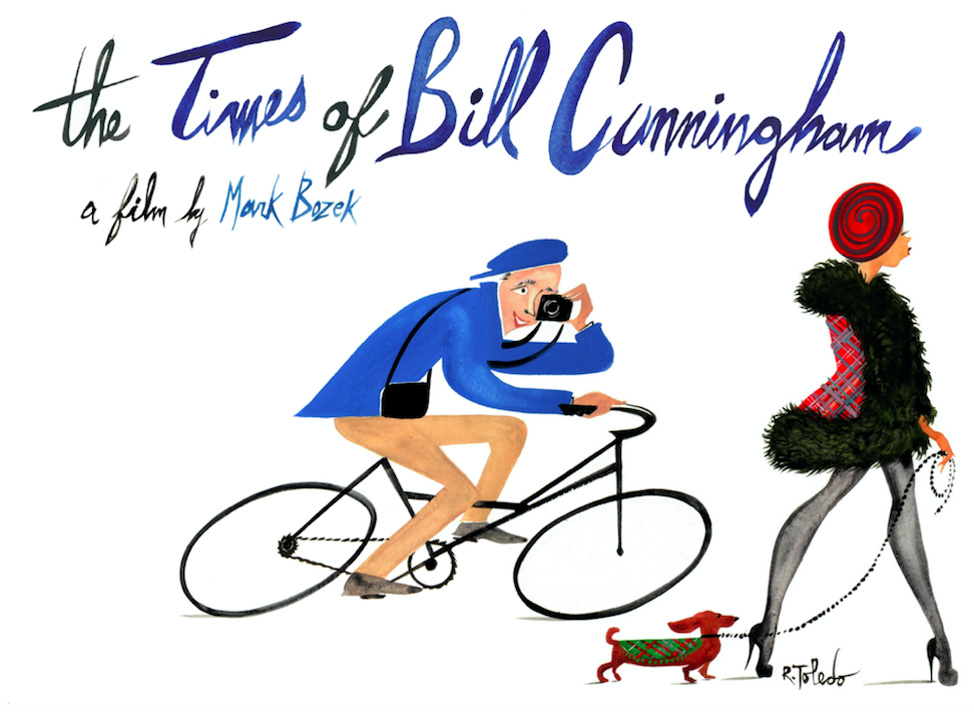 The Times of Bill Cunningham, Illustration by Ruben Toledo