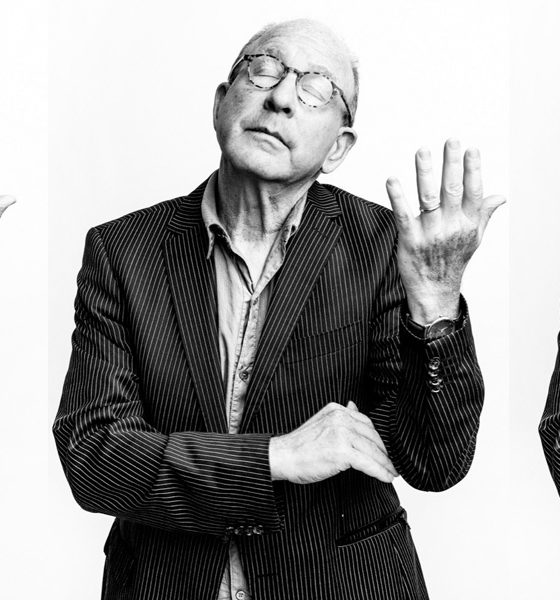Portrait of Jerry Saltz by Celeste Sloman.