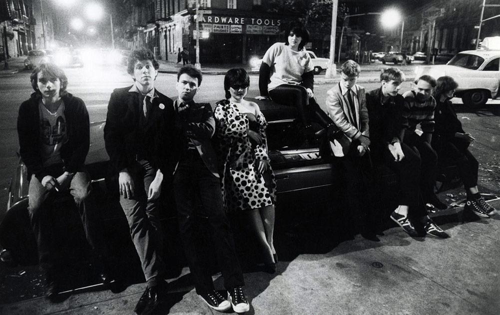 Photography by GODLIS, <i> No Wave Punks, Bowery </i>