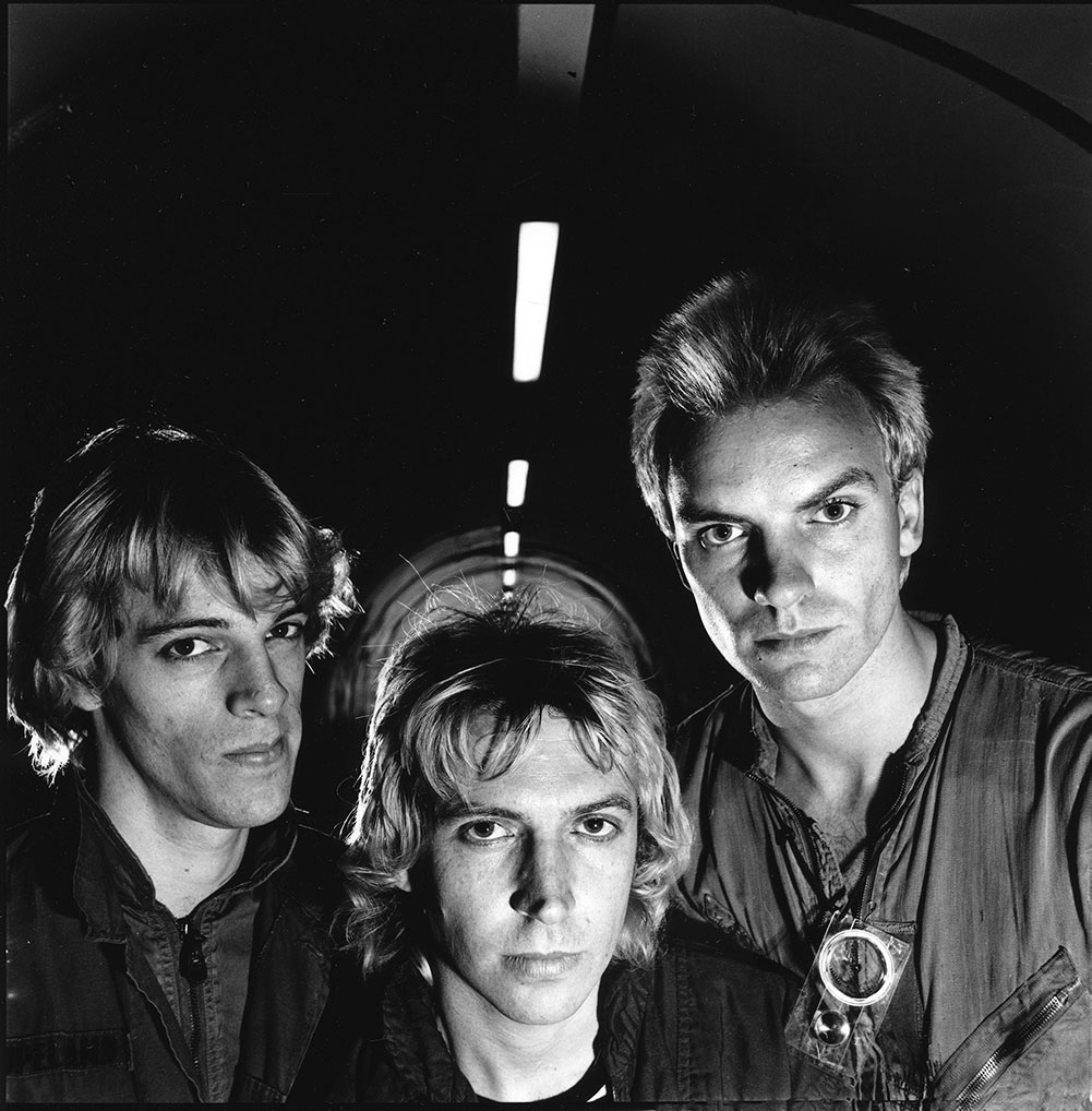 The Police, London, 1978 © Janette Beckman