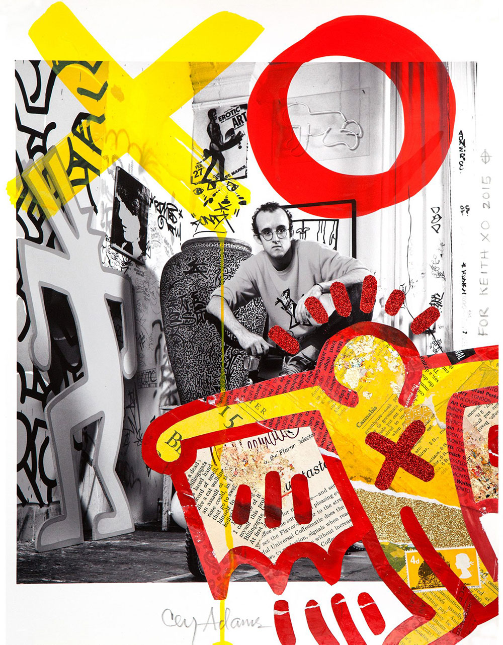 The Mash-Up, Keith Haring | Janette Beckman x Cey Adams