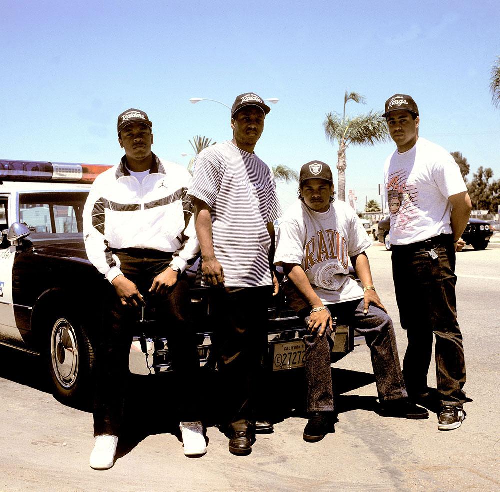 NWA, Torrance, CA, 1990 © Janette Beckman